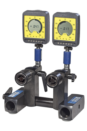 KM2 with 2 plugs and 2 digital-analogue indicators ANA