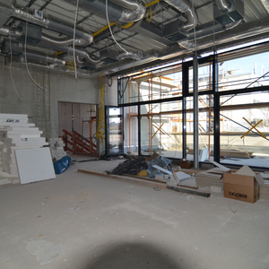 The future training room I, seen from inside…