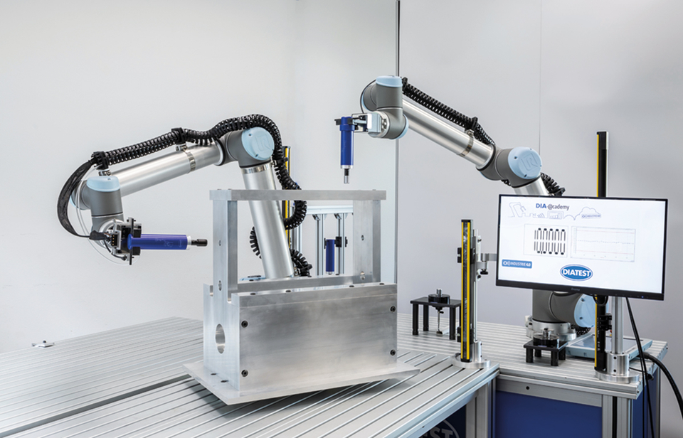 Robot-supported automatic measurement