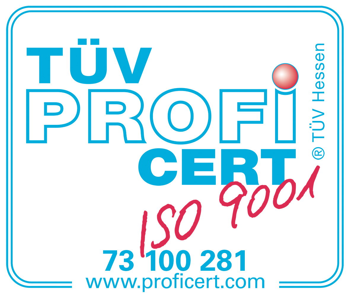 Certificate – The TÜV CERT